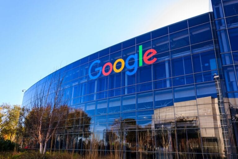 Google Employee's Google building