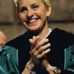 A Photo Of A Clapping And Smiling Ellen Degeneres Who Made A Famous Career Change