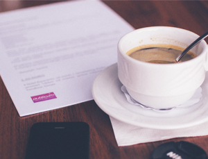 perfect resume templates behind a small mug of coffee