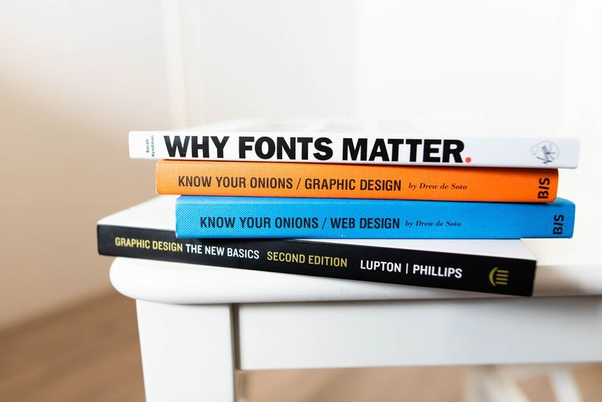 A Pile Of Books About The Resume Fonts You Can Use In Writing Ats Resume