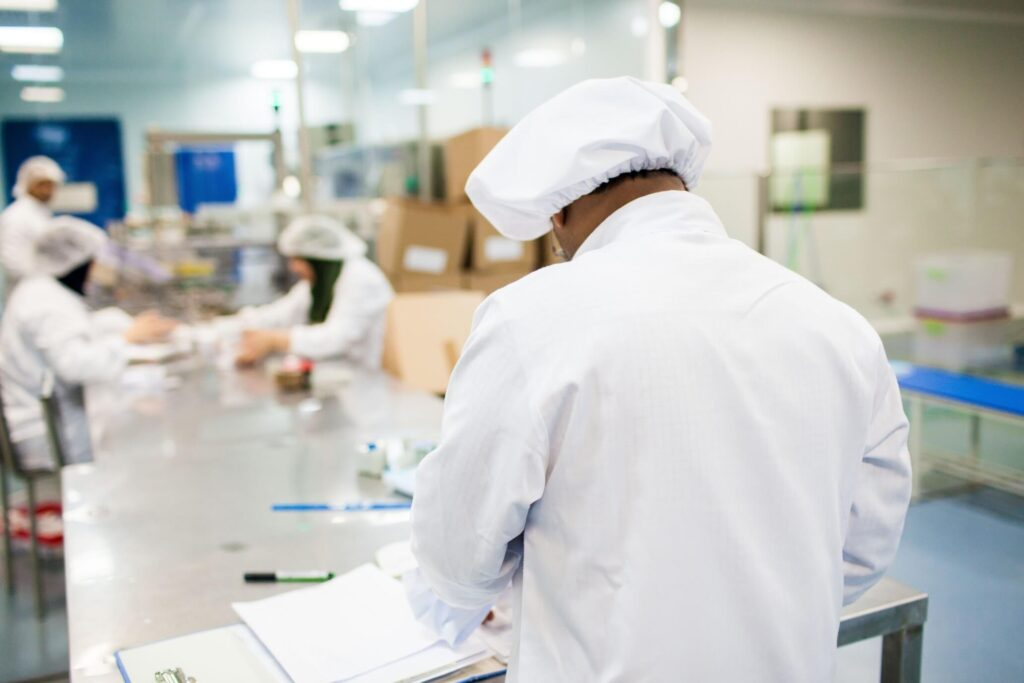 Research Scientist Working In A Pharmaceutical Industry