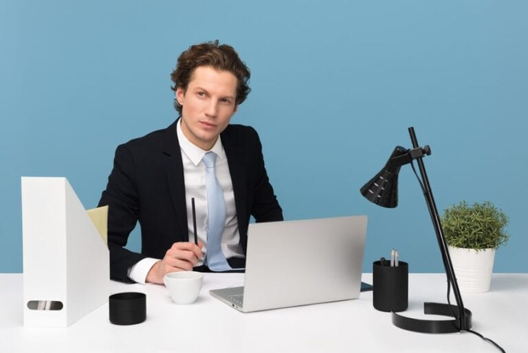 A job applicant sitting while contemplating on getting quick resume writing services