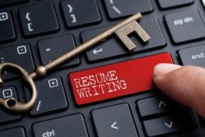 Resume writing involves knowing the right resume format to use