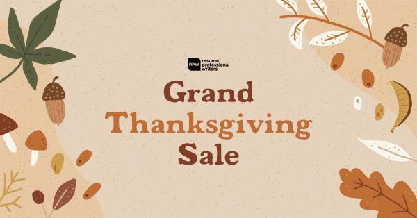 Grand Thanksgiving Sale 2020
