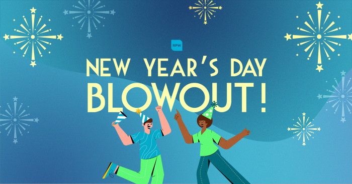 New Year's Day Blowout Promo Coupon