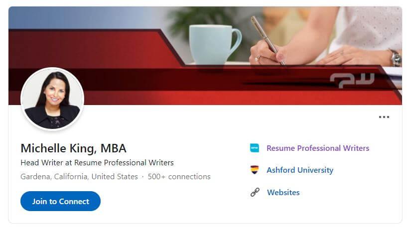 Michelle King'S Linkedin Profile