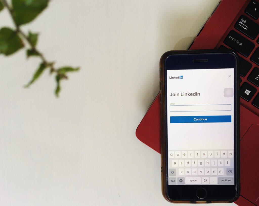 Linkedin On Mobile Device