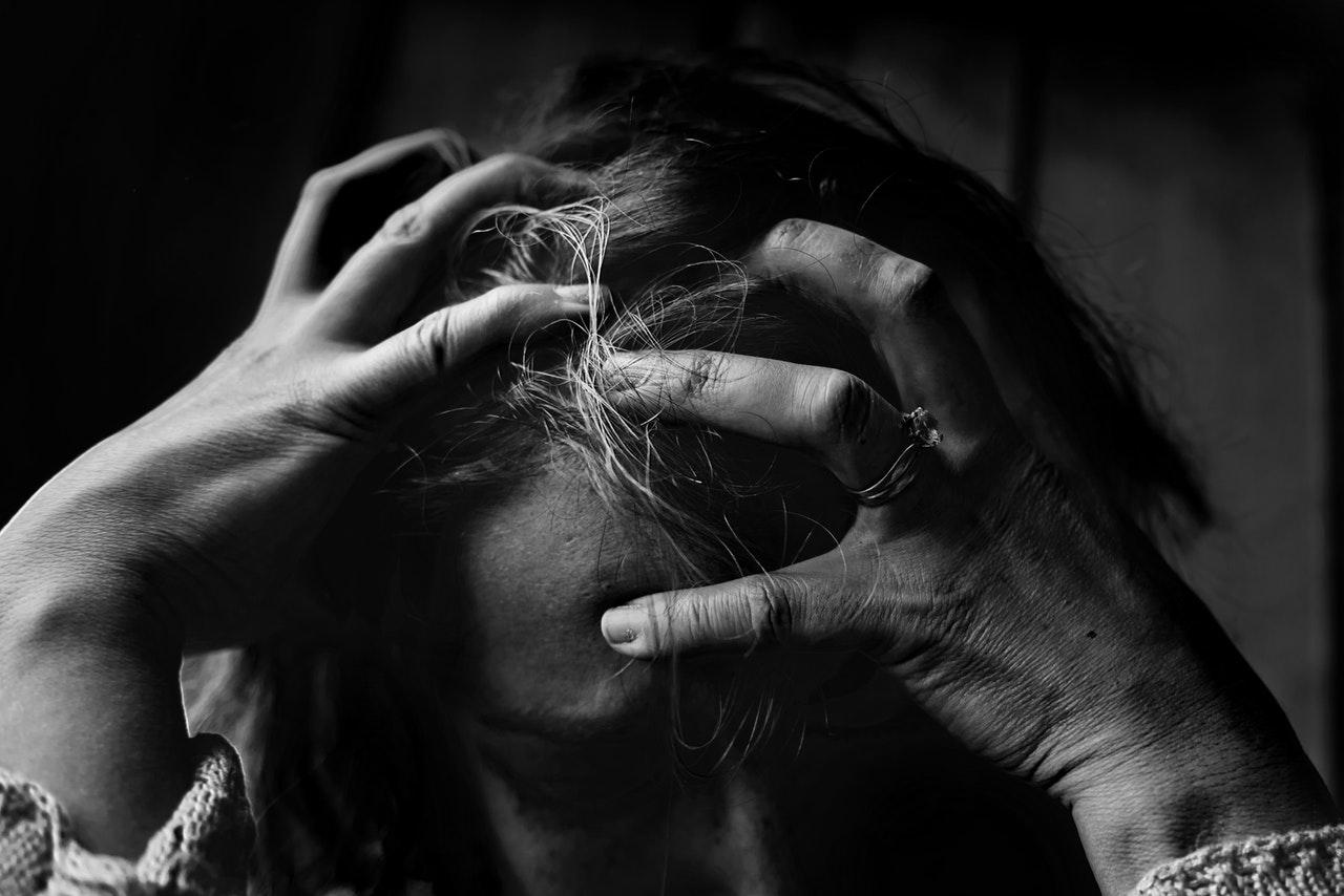 women suffering from job stress