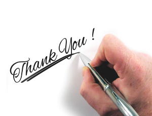 """letter writing tips to a perfect """"thank you"""" letter"""