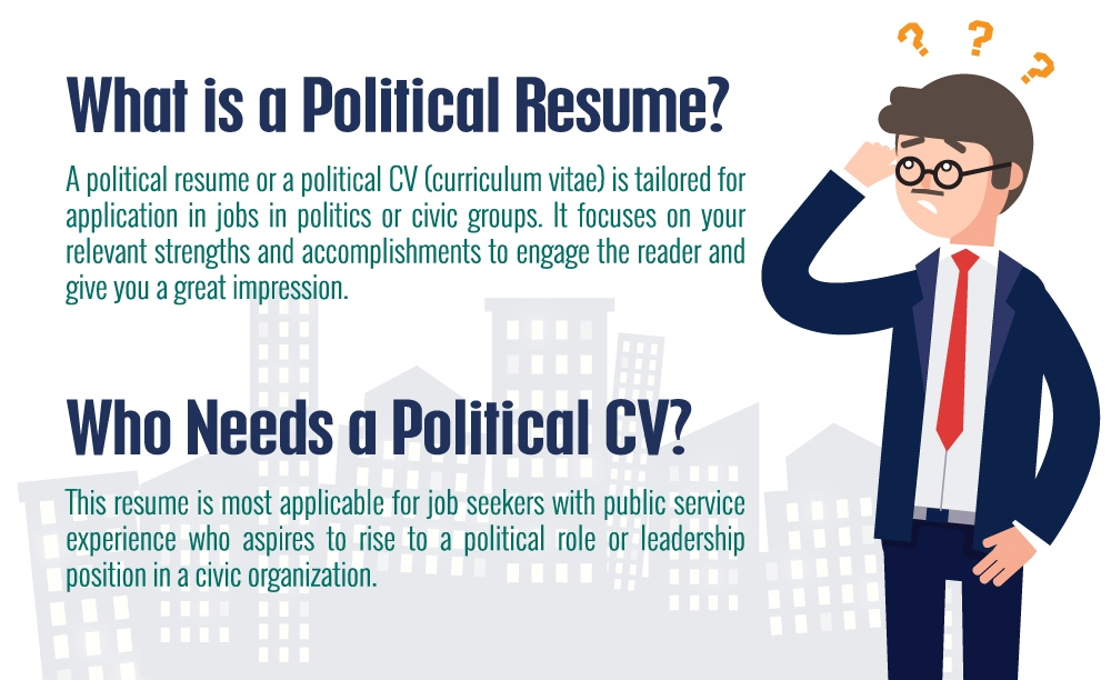 What is a Political Resume Infographic