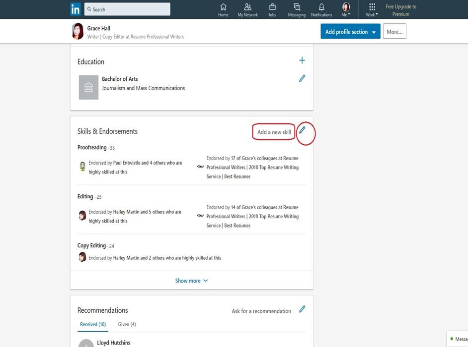 LinkedIn Profile Image 12