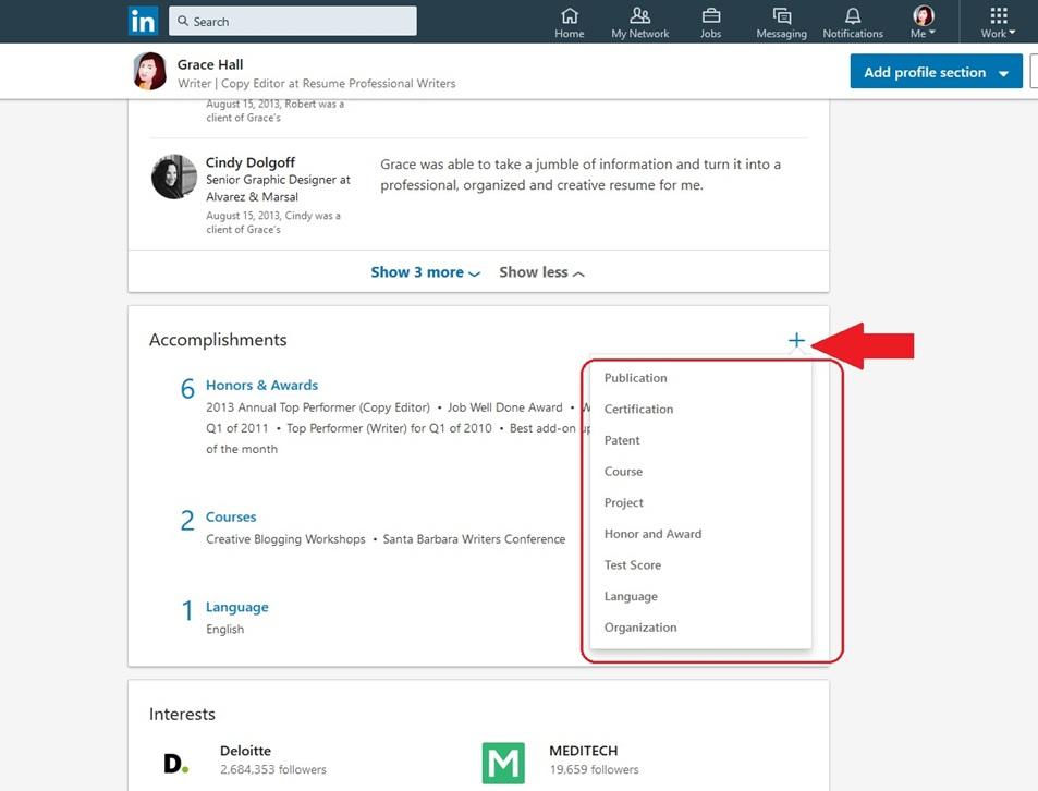 LinkedIn Profile Image 18