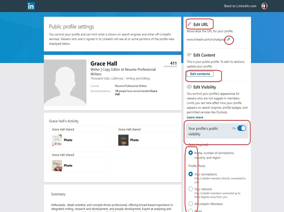 LinkedIn Profile Image 24
