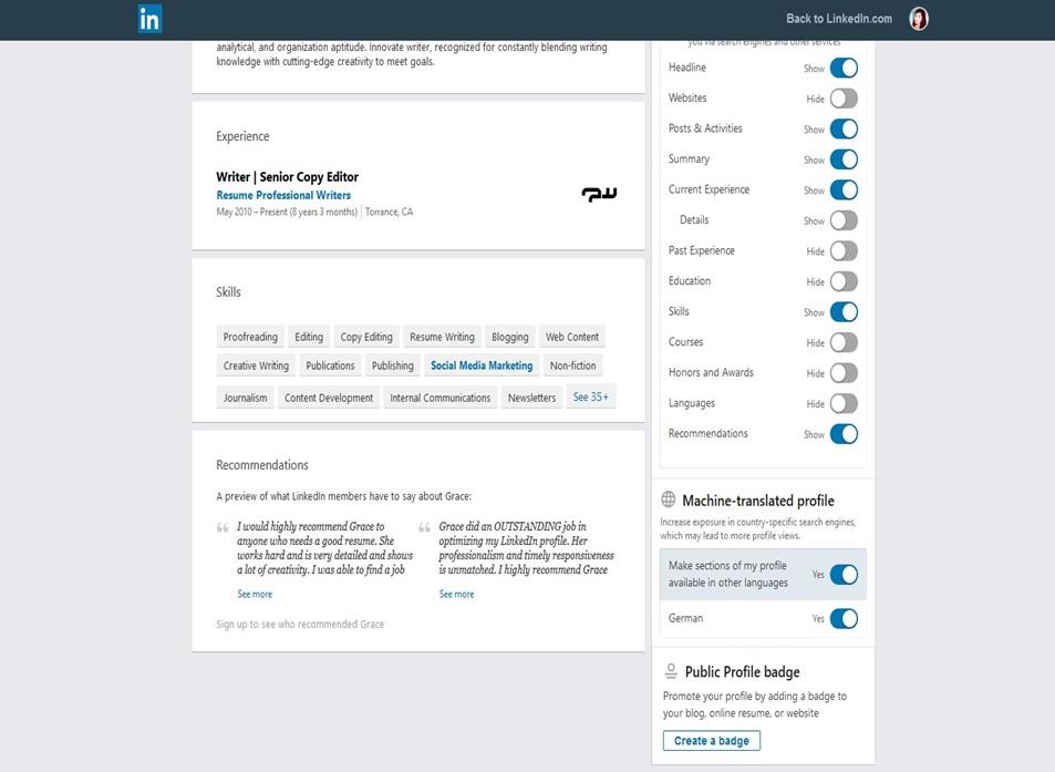 LinkedIn Profile Image 25