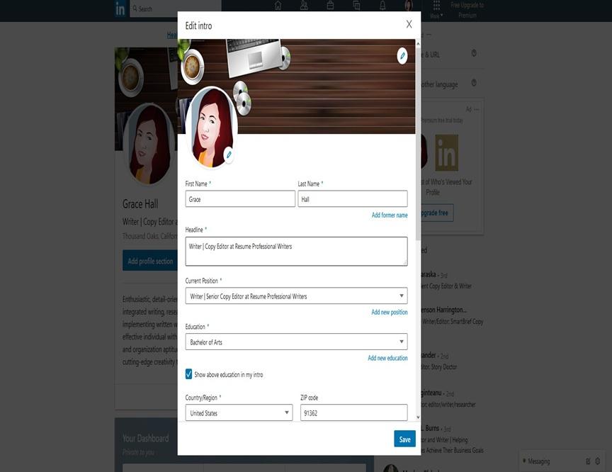 LinkedIn Profile Image 4